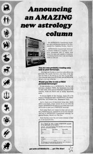 ASTRODATA Computerized Astrology (1970)