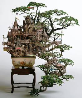 bonsai tree house by takanori aiba