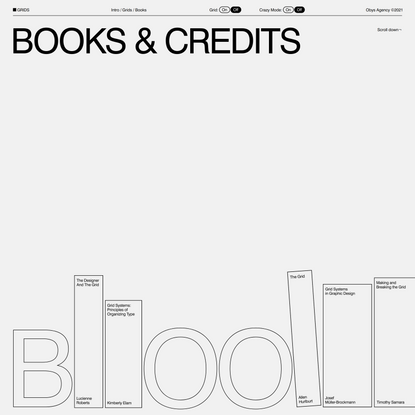 Grids — Books and Credits
