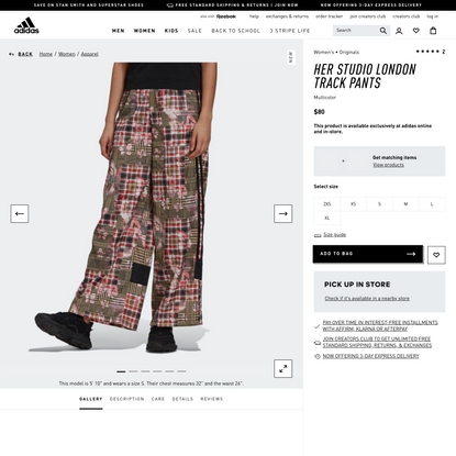 adidas HER Studio London Track Pants - Multicolor | adidas US
