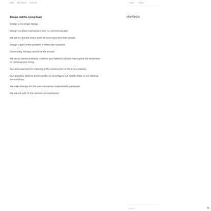 Manifesto - DWFE
