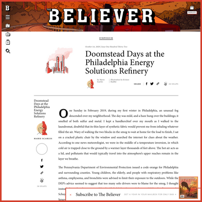 Doomstead Days at the Philadelphia Energy Solutions Refinery - Believer Magazine