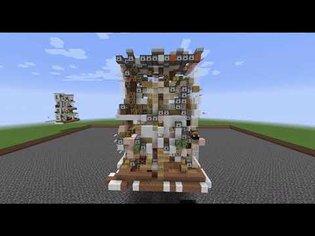 Minecraft Morphogenesis