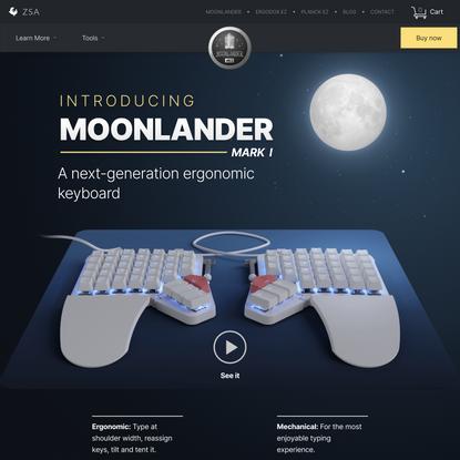 ZSA Moonlander: Next-gen Ergonomics