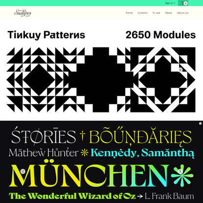 Sudtipos foundry · Home