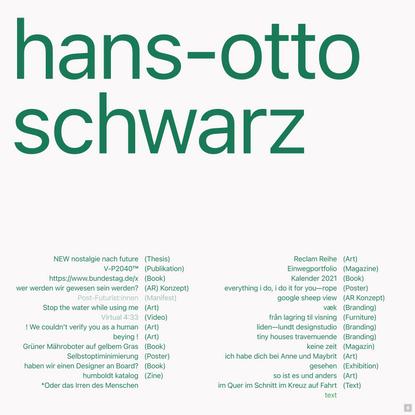 Hans–Otto Schwarz