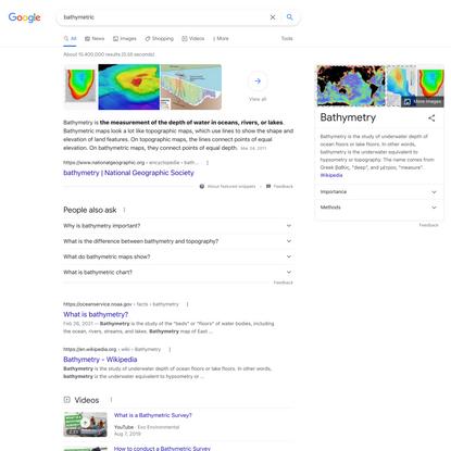 bathymetric - Google Search