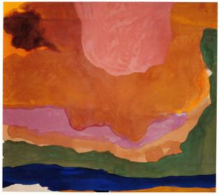 "Helen Frankenthaler ""Flood"" (1967)"