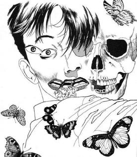 The Laughing Vampire by Suehiro Maruo