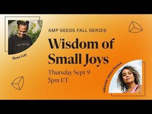 Wisdom of Small Joys - September 9