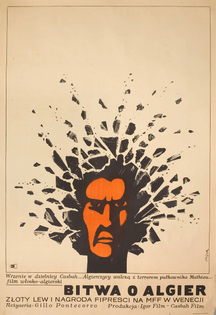 Polish poster for The Battle of Algiers