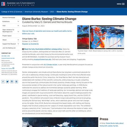 Seeing Climate Change: Diane Burko, 2002-2021