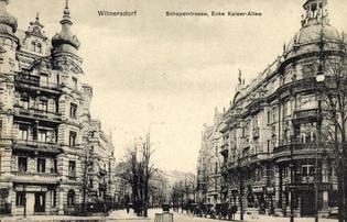Schaperstr. / Bundesallee, date unknown