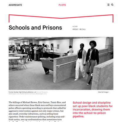 Aggregate – Schools and Prisons