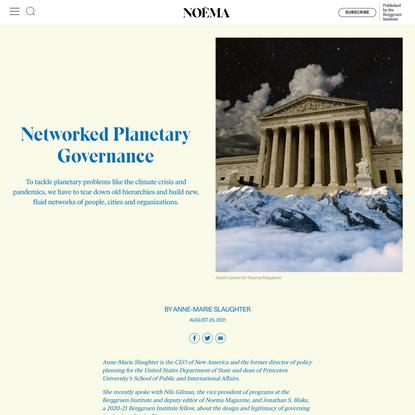 Networked Planetary Governance | NOEMA