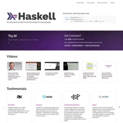 Haskell Language