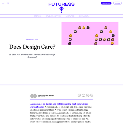 Does Design Care?