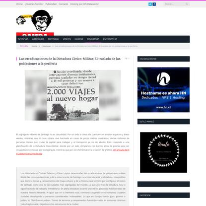 Las erradicaciones de la Dictadura Cívico-Militar: El traslado de las poblaciones a la periferia
