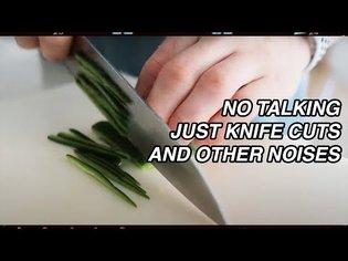 (ASMR) MAKING PICO & GUAC 🥑 Sharp Japanese Knife Cuts