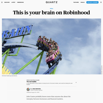 This is your brain on Robinhood
