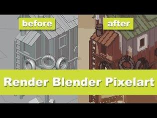 Making advanced Pixelart in Blender [Tutorial]