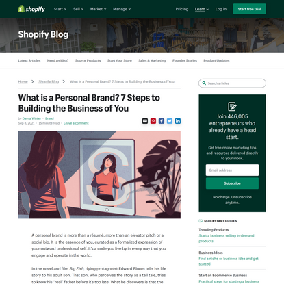 What is a Personal Brand? 7 Steps to Building the Business of You