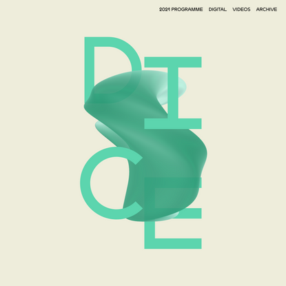Homepage - DICE Conference + Festival, Berlin