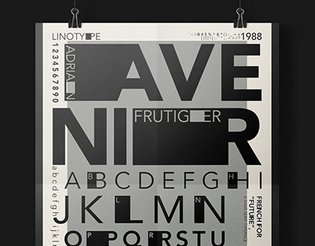 Type + Design Icon Poster
