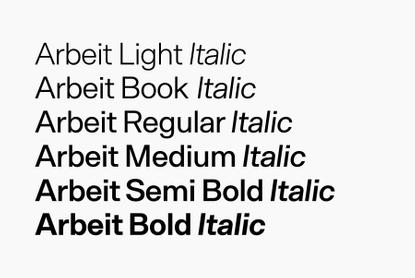 Arbeit - Desktop Font & WebFont - T11214 - YouWorkForThem