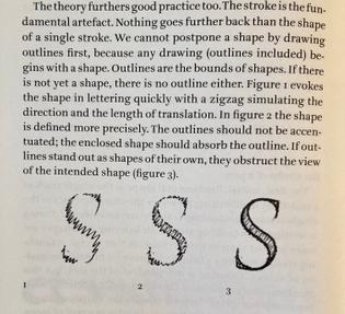 Avoid outline strokes