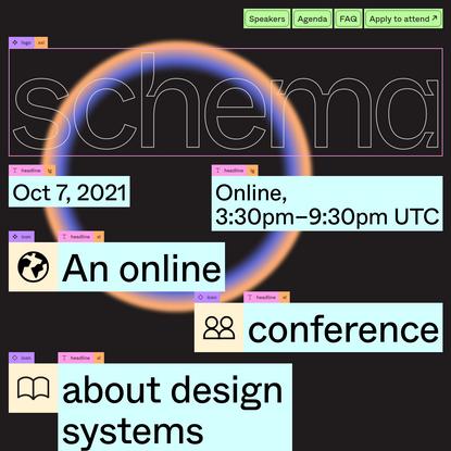 Schema Conference 2021