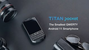 Titan Pocket - The Smallest QWERTY Android 11 Smartphone