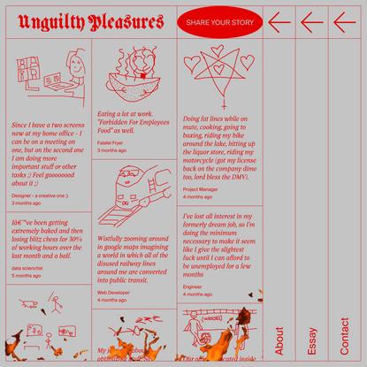 Unguilty Pleasures