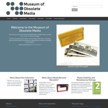 Museum of Obsolete Media