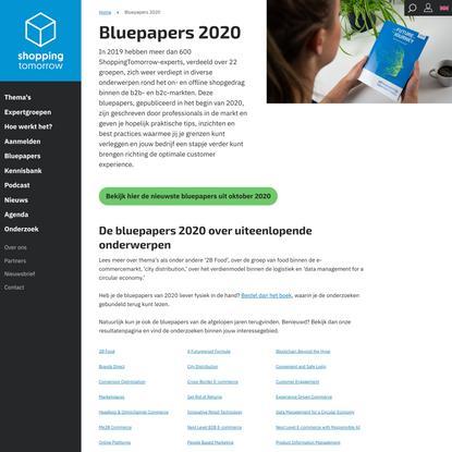 Bluepapers 2020