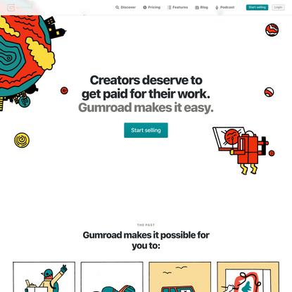 Gumroad | Sell Digital Products & Memberships