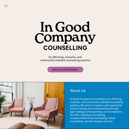 In Good Company Counselling