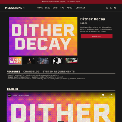 Dither Decay