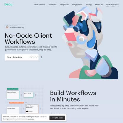 No-Code Client Workflows