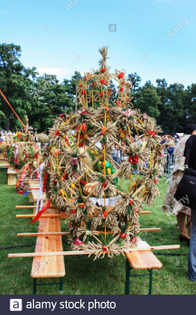 annual-harvest-festival-and-competition-for-the-most-beautiful-wreath-in-krakow-poland-2bymhar.jpg