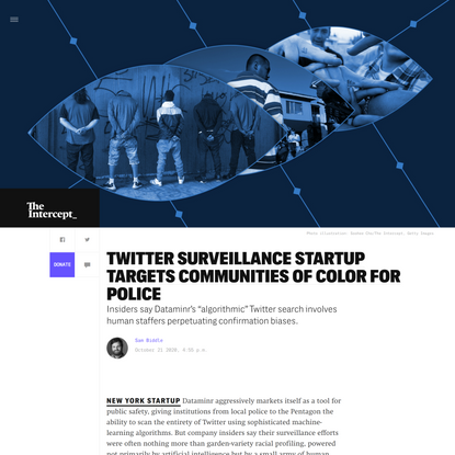 Twitter Surveillance Startup Targets Communities of Color for Police
