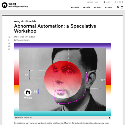 Abnormal Automation: a Speculative Workshop