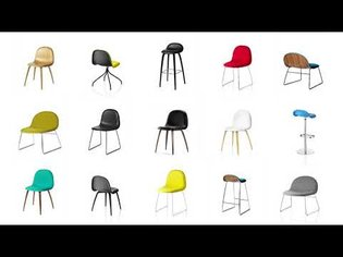 The Beetle Chair from Gubi