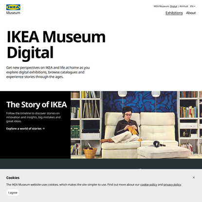 Digital exhibitions - IKEA Museum Digital