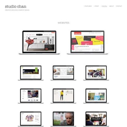 Websites — Studio Chan