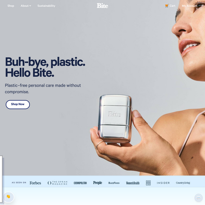 Bite Toothpaste Bits - Zero Waste Toothpaste Tablets