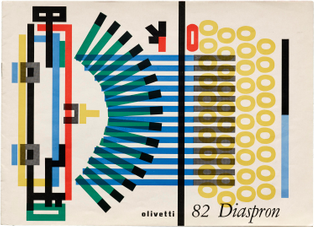 Giovanni Pintori, Olivetti 82 Diaspron, 1965