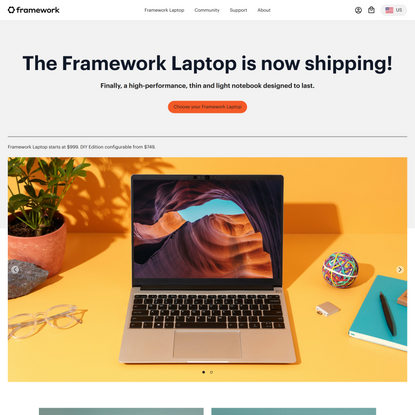Framework Laptop pre-orders are now open