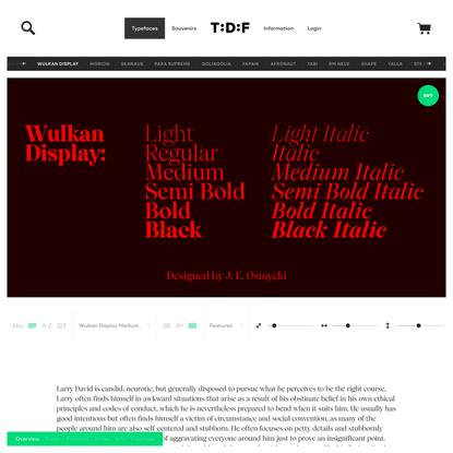 Wulkan Display | The Designers Foundry