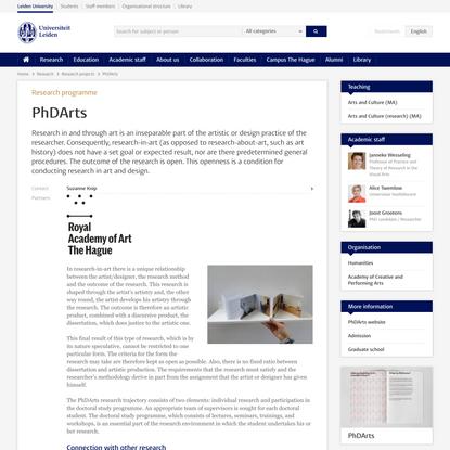 PhDArts